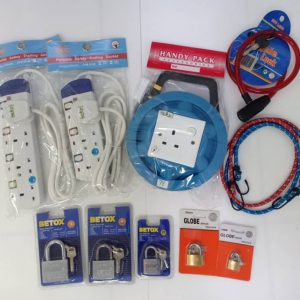 SAFETY LOCK & EXTENSION WIRE