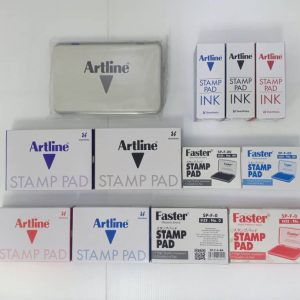 STAMP PAD & REFILL